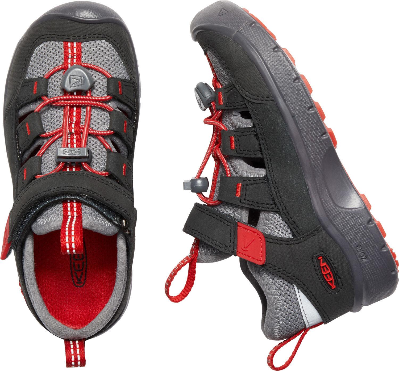 86097837927 Keen Hikeport Vent - Chaussures Enfant - rouge noir sur campz.fr !